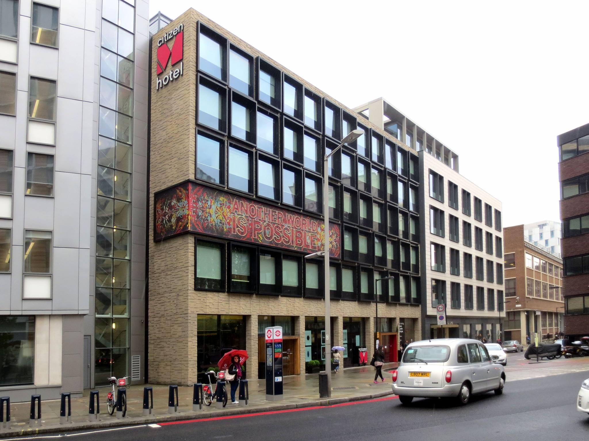 The CitizenM on Southwark Street
