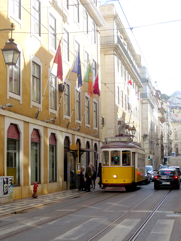The famous Tram 28 in Baixa