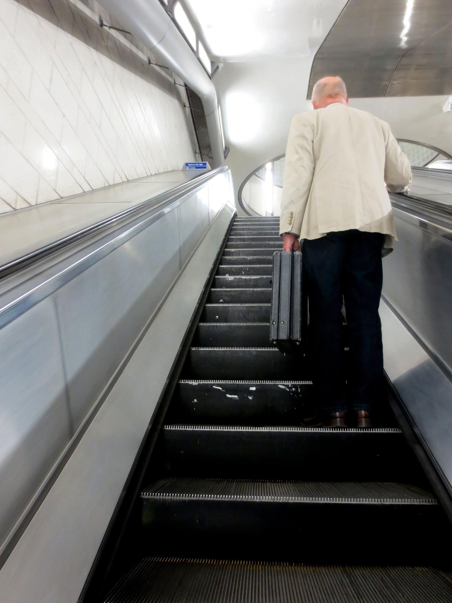 Escalators, escalators, escalators