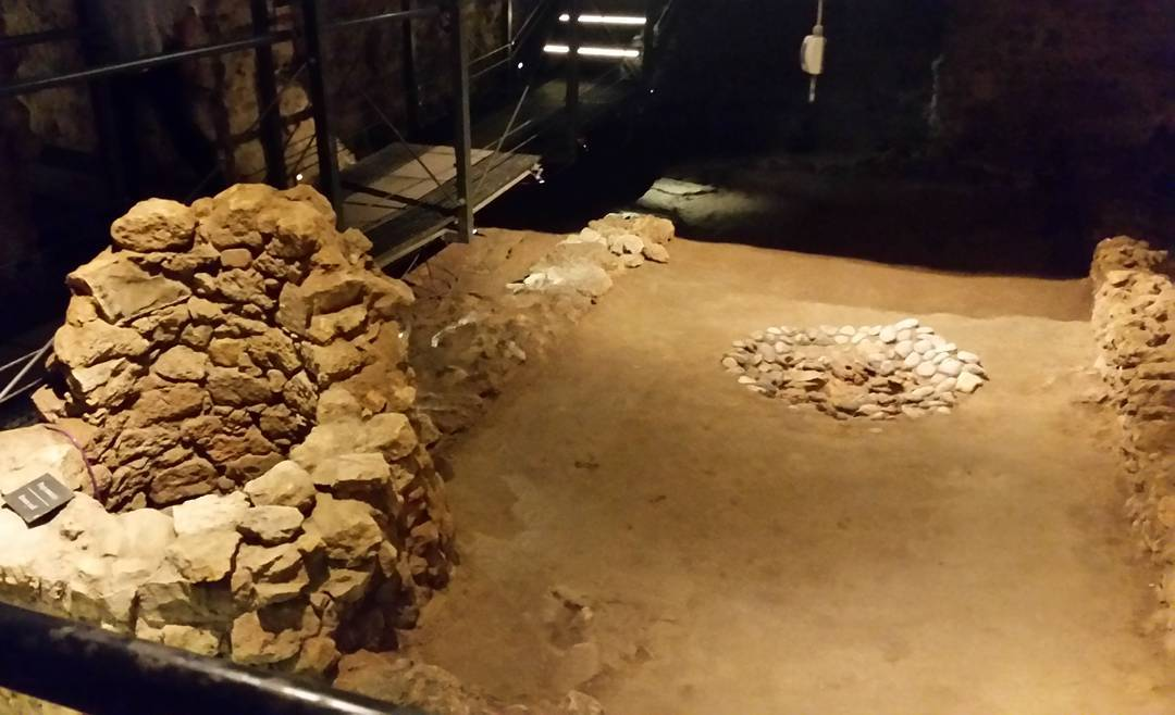 Paleolithic House and Roman Well