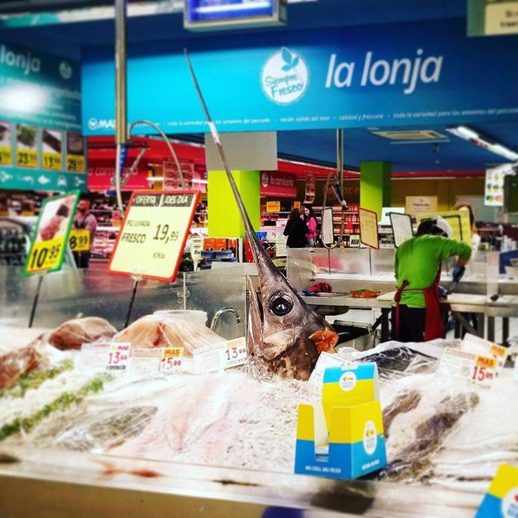 Supermarket Fish Heads