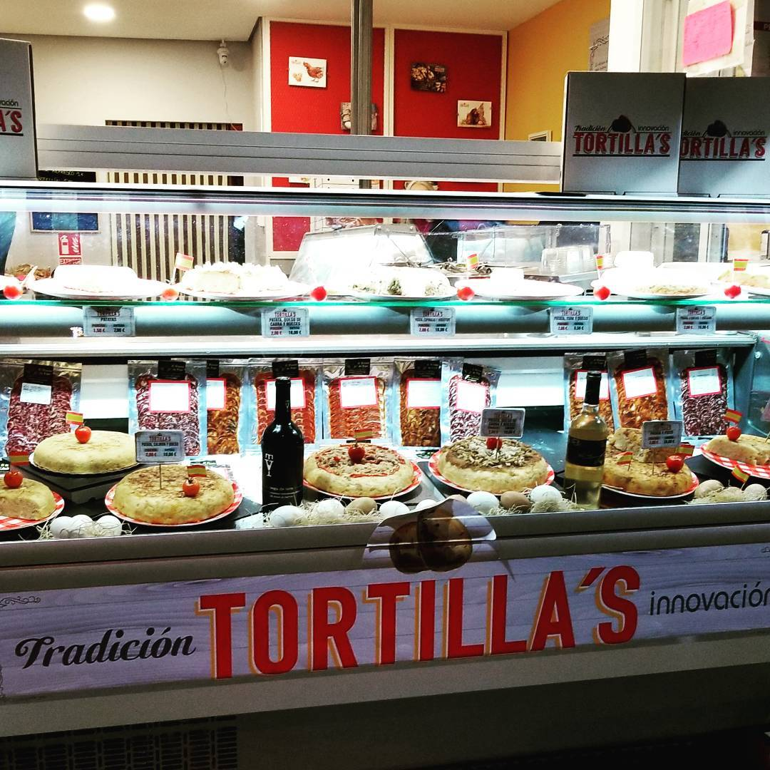 The Tortilla's Display Case