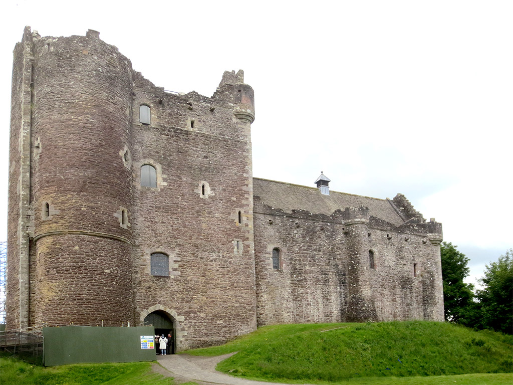 Doune Castle Exterior