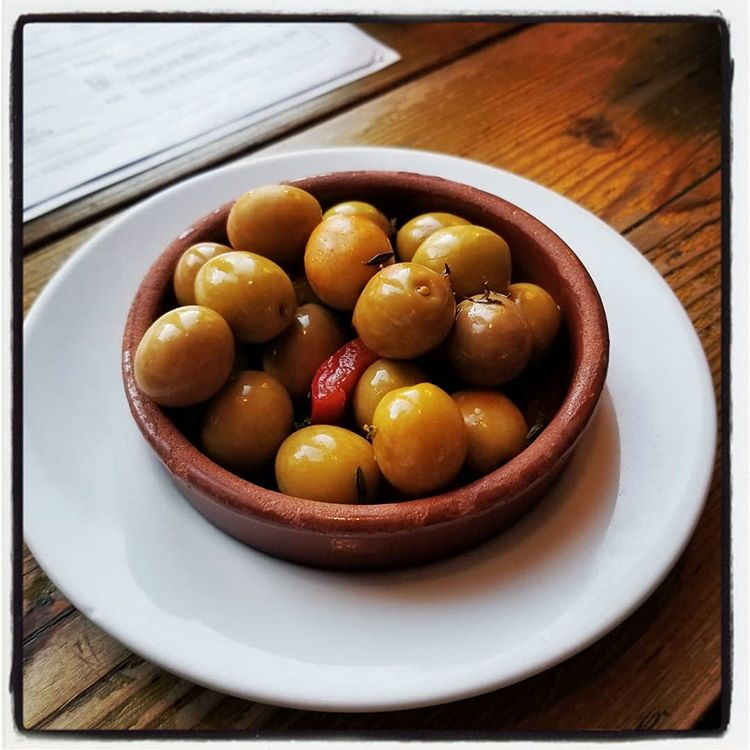 Serrano & Manchego — Best olives since Spain