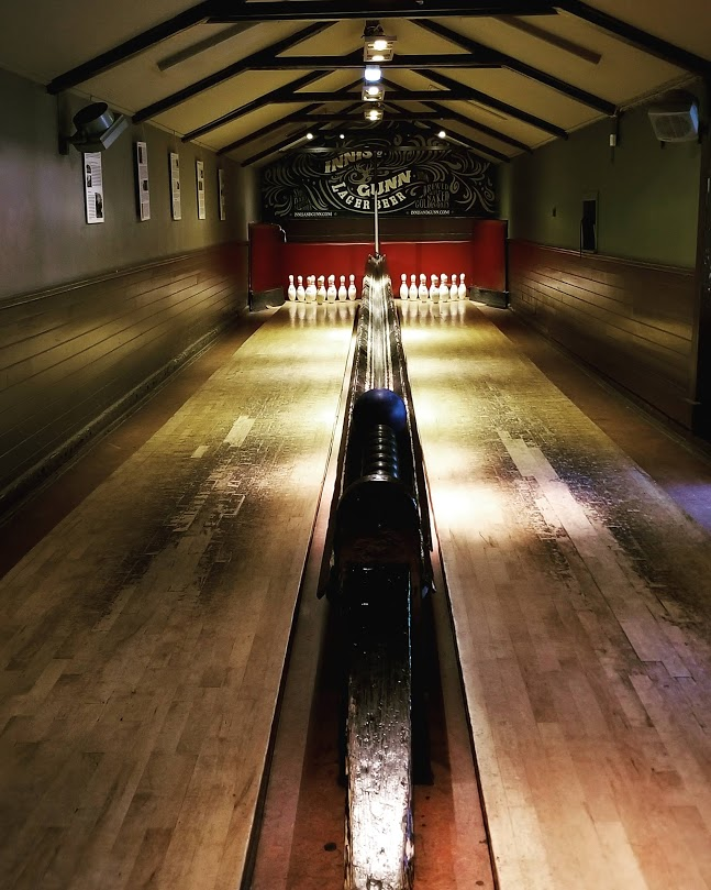 Sheep Heid Inn — Skittles Lanes