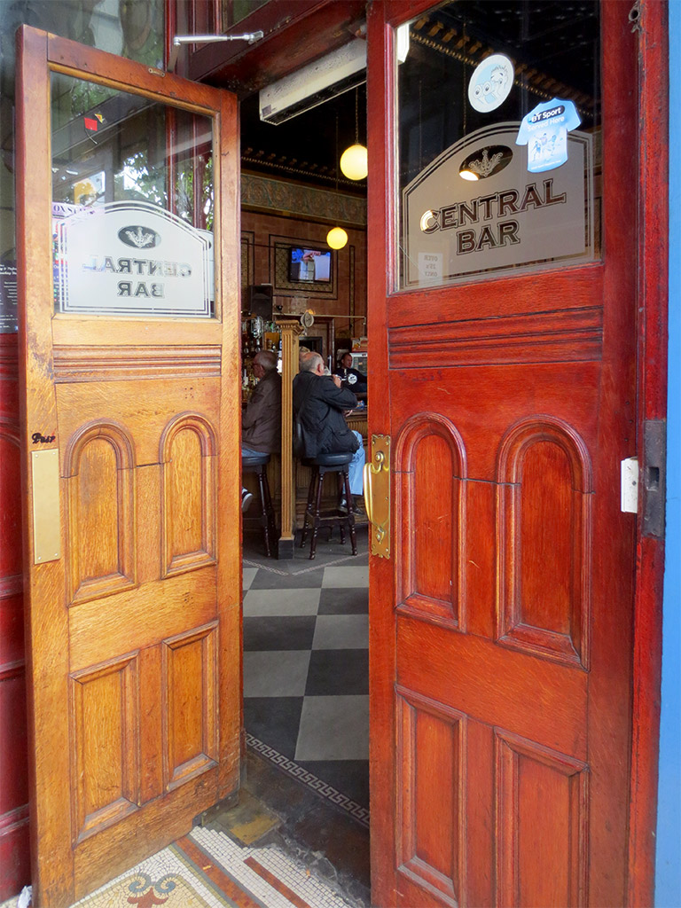 Central Bar — A Peek Inside