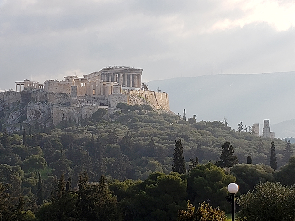 The Acropolis from Filopappou Hill